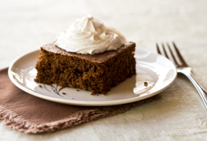Old fashioned gingerbread—ultimate comfort food