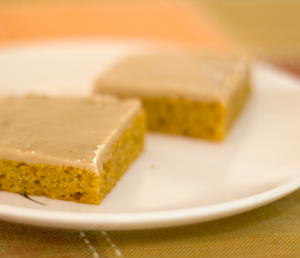 Almond Flour Pumpkin Bars