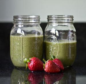 Strawberry-Kale Smoothie