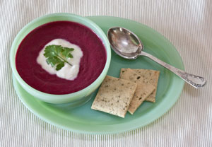 Chilled Creamy Beets Soup