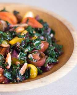 Beet Greens Salad
